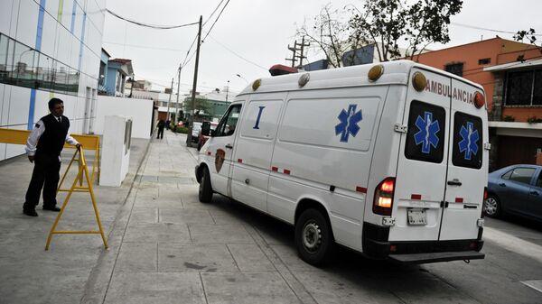 Машина скорой помощи в Перу