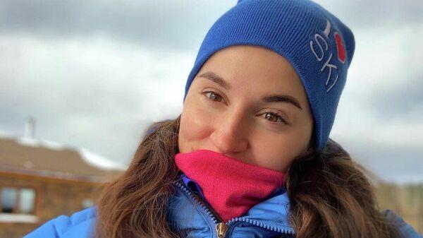Лыжница Юлия Белорукова (Россия)