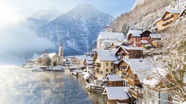 Ярмарочная община Халльштатт в Австрии