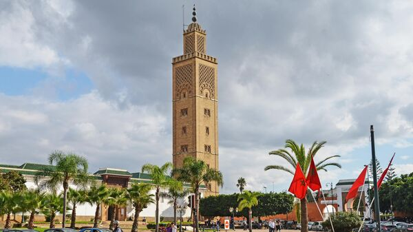 Мечеть Баб-Эль-Хат в Рабате