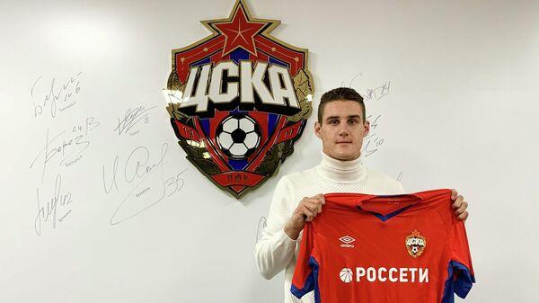 Белорусский нападающий Илья Шкурин, перешедший в ЦСКА