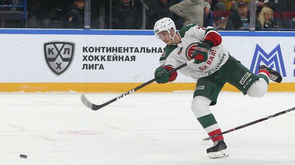Игрок ХК Ак Барс Станислав Галиев