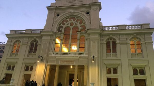 Древняя синагога открыта после реставрации в египетской Александрии