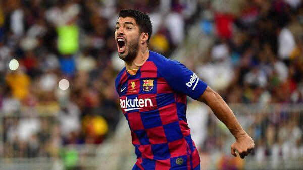 Нападающий ФК Барселона Луис Суарес