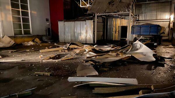 Последствия  хлопок пылевоздушной смеси в селе Беленькое Борисовского района Белгородской области. 12 января 2019