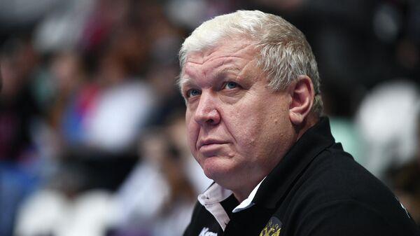 Вице-президент Федерации гандбола России Евгений Трефилов