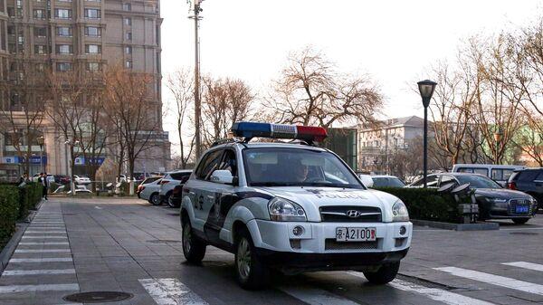 Патрульный автомобиль полиции Китая