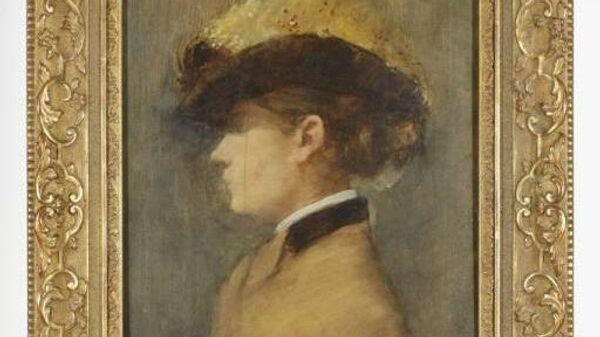 Картина  Профиль женщины 1881 авторства Жана-Луи Форена