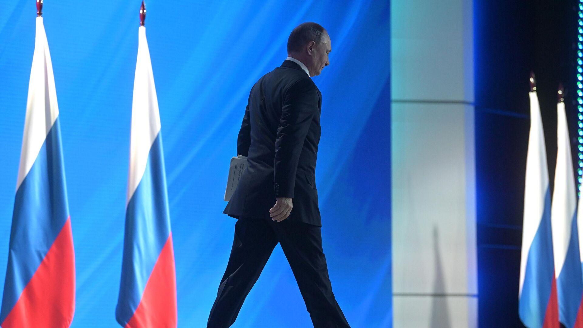 Путин проведет совещание по выполнению послания 2020 года