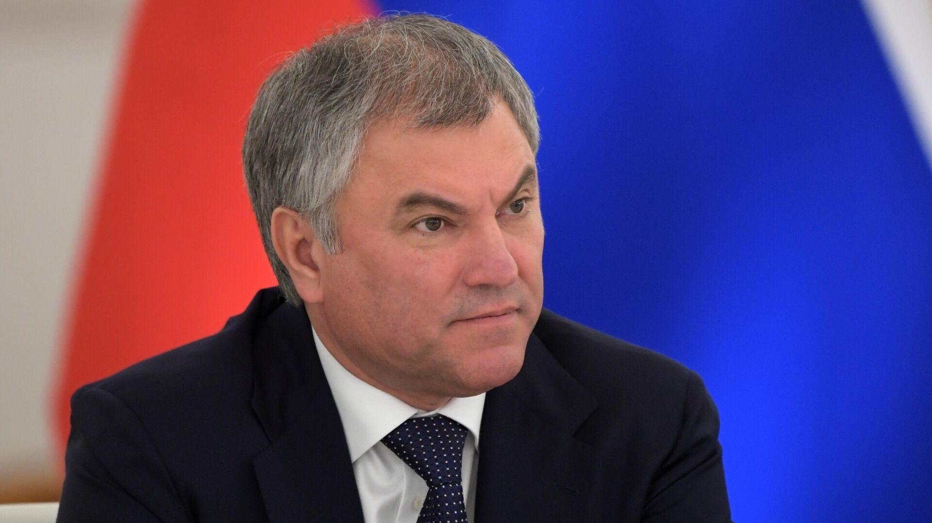 Володин предложил закрепить предвыборные обещания депутатов юридически
