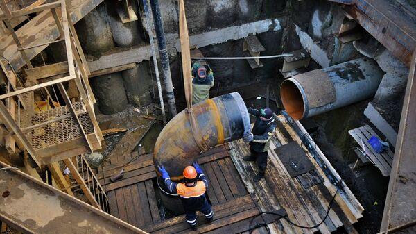 Реконструкция газопровода-дюкера Автозаводский в Москве