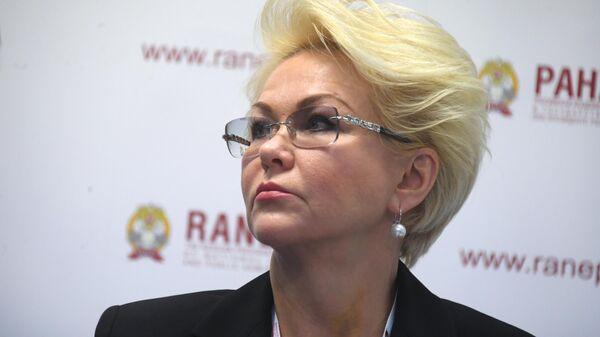 Первый заместитель министра здравоохранения РФ Татьяна Яковлева на XI Гайдаровском форуме в Москве