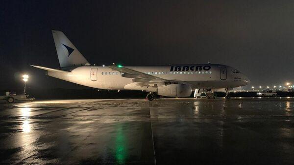 Место незапланированной посадки самолета авиакомпании Ираэро Sukhoi Superjet 100 на недействующую ВПП Домодедово