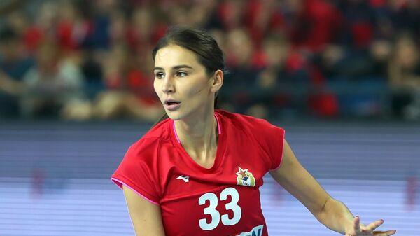 Гандболистка ЦСКА Екатерина Ильина