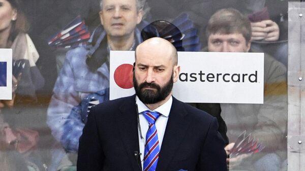 Главный тренер ХК СКА Алексей Кудашов