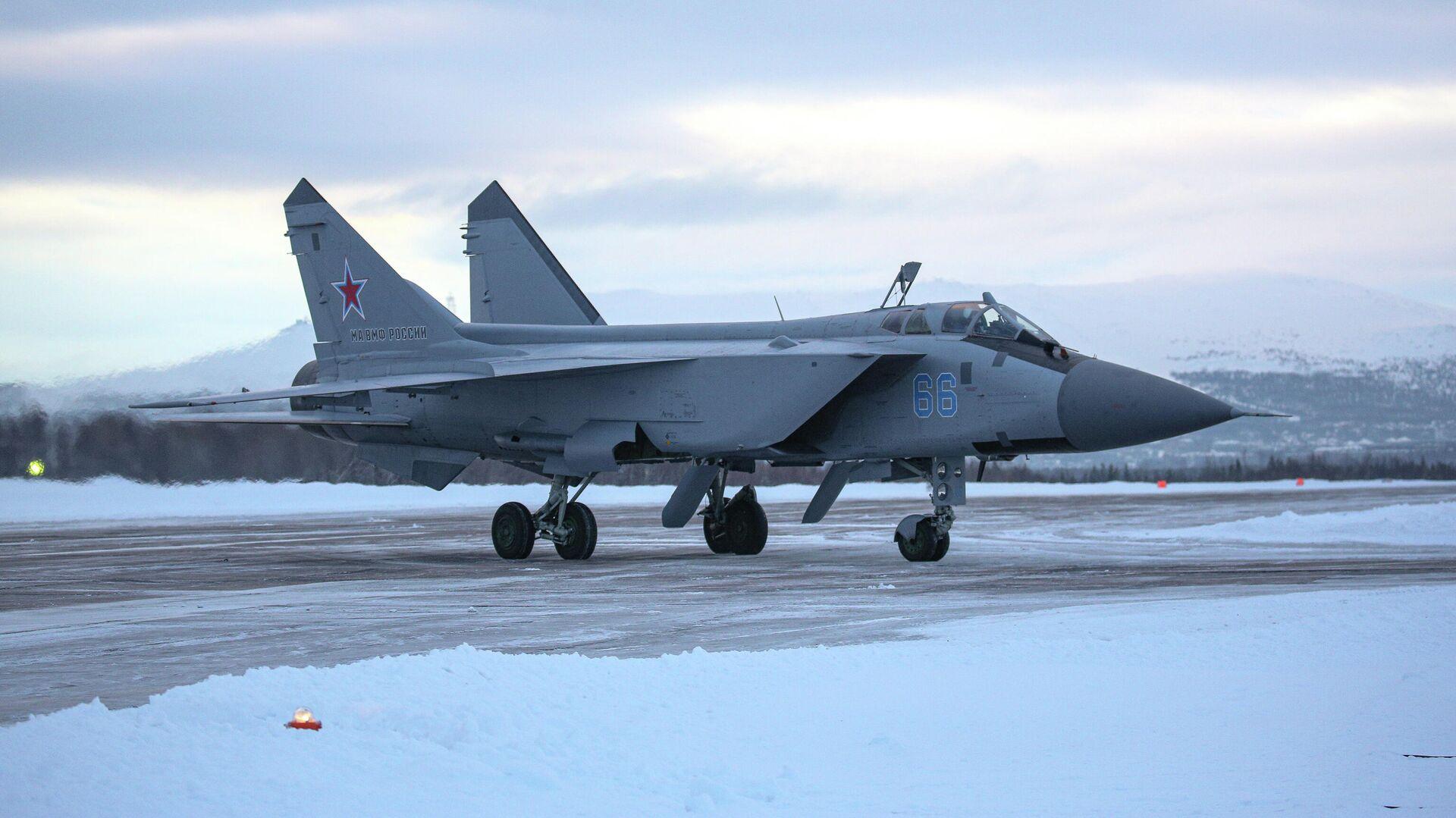 Обои ввс, миг-31, перехватчик, россии, истребитель, Самолёт. Авиация foto 16