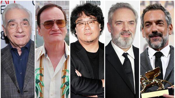 Наиболее известные номинанты на лучшего режиссера 92-й церемонии Оскара:  Мартин Скорсезе, Квентин Тарантино, Пон Чжун Хо, Сэм Мендес, Тодд Филлипс