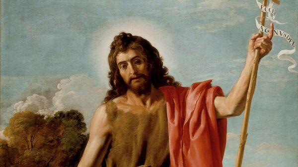 Святой Иоанн Креститель в пустыне. Хосе Леонардо