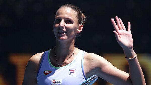 Чешская теннисистка Каролина Плишкова