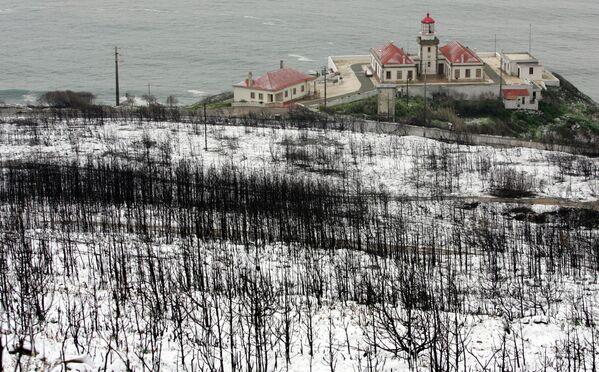 Снег в Португалии