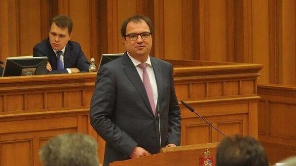Министр государственного управления, информационных технологий и связи Московской области Максут Шадаев