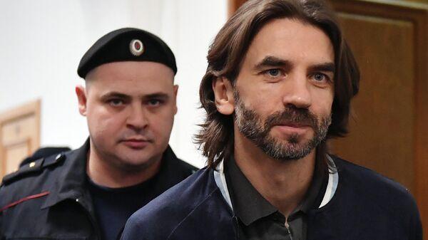 Бывший министр РФ по связям с Открытым правительством Михаил Абызов в суде