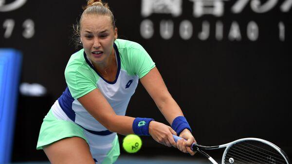 Российская теннисистка Анна Блинкова