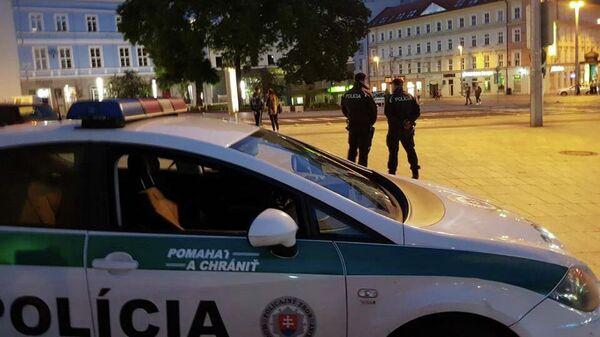 Полиция в Братиславе