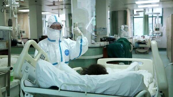 В Центральном госпитале города Ухань