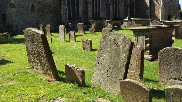 Кладбище в Великобритании