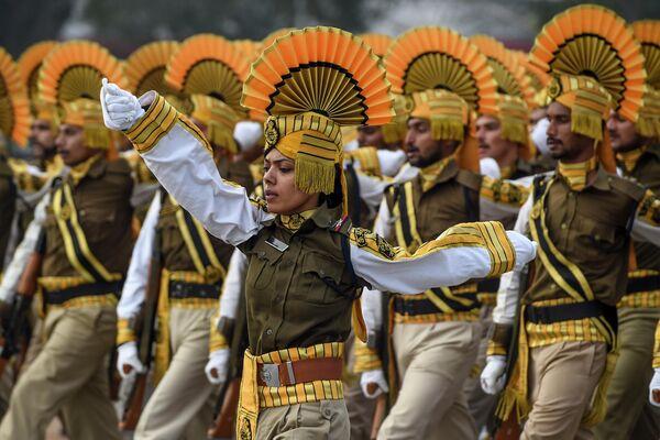 Военный парад в Нью-Дели