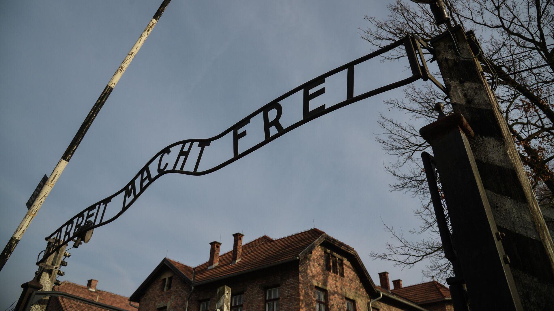 Музей на территории бывшего концентрационного лагеря Аушвиц-Биркенау в польском Освенциме - РИА Новости, 1920, 16.09.2020