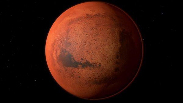 Планета Марс. Архивное фото