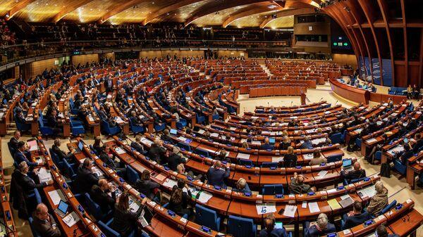 Заседание зимней сессии ПАСЕ во французском Страсбурге