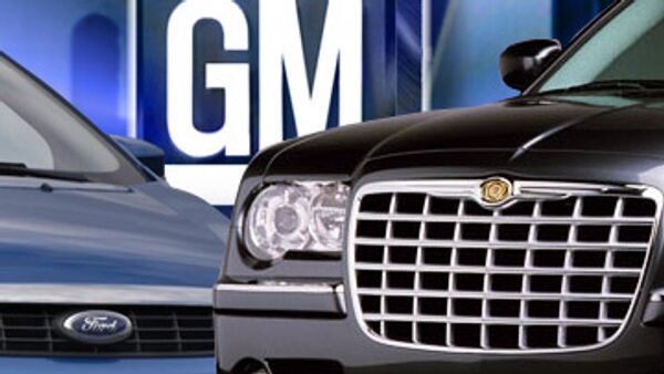 Ford, Chrysler, General Motors