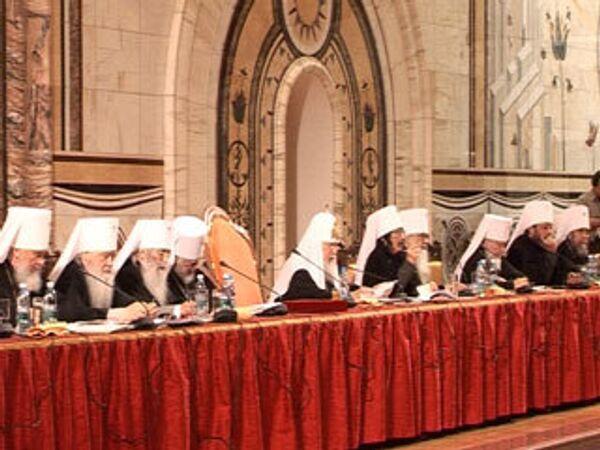 Впервые вместе: Архиерейский собор в Москве