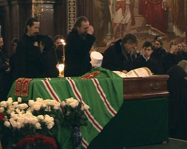 Москва второй день прощается с Алексием II