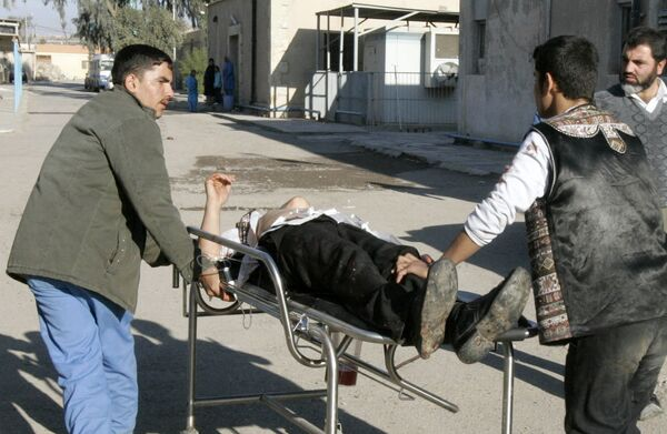 Взрыв в иракском городе Киркук