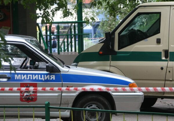 Ограбление инкассаторов в Москве