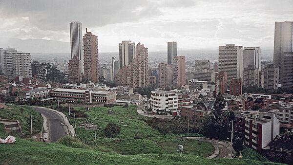 Санта-Фе-де-Богота. Столица Колумбии. Архив