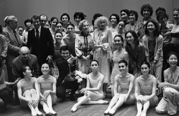 Русские балерины Ольга Лепешинская и Галина Уланова