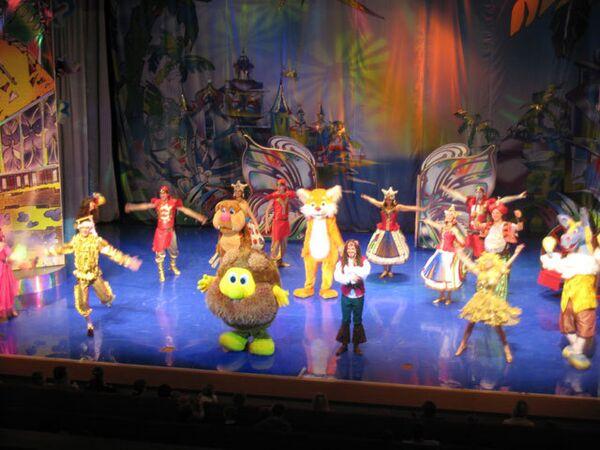 Детский спектакль Тепа на Острове сокровищ в театре Золотое кольцо