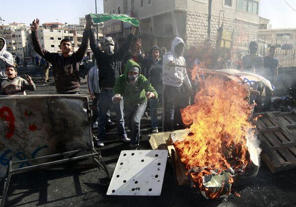 На Западном берегу реки Иордан проходят акции протеста