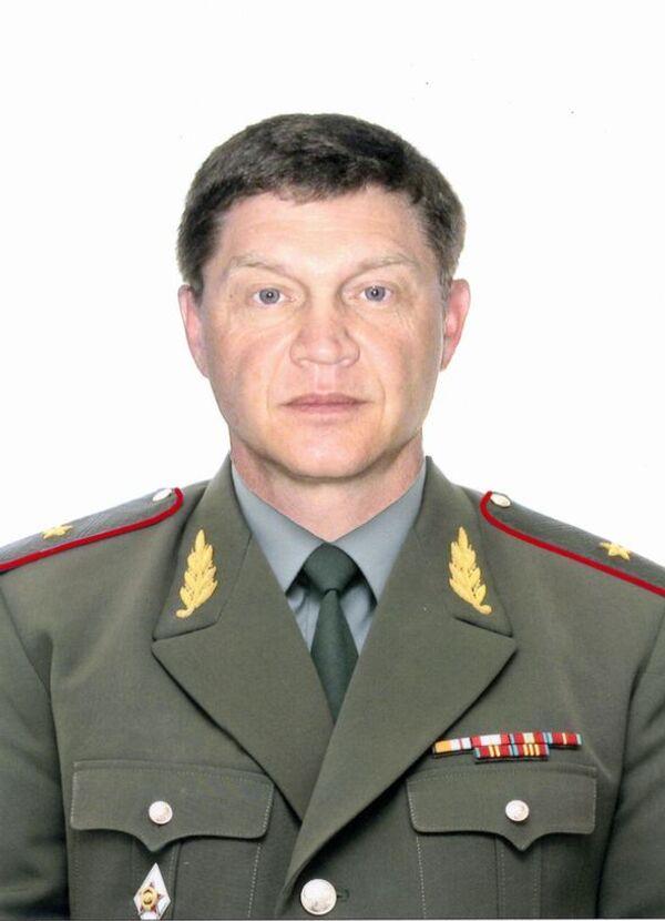 Генерал-майор внутренних войск МВД РФ Валерий Липинский
