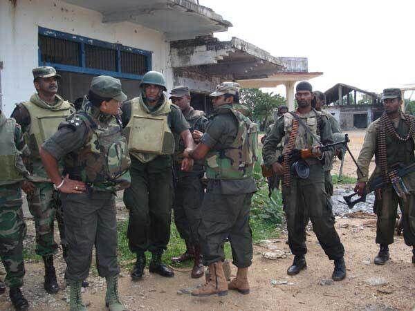 Войска Шри-Ланки участвуют в боях по освобождению севера страны от тамильских сепаратистов