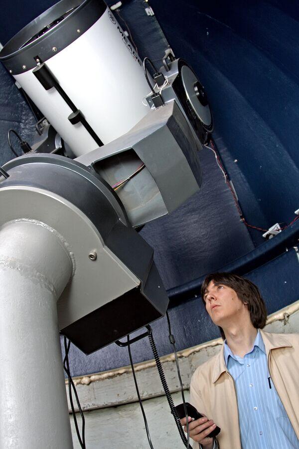 Зеркально-линзовый телескоп. Архив
