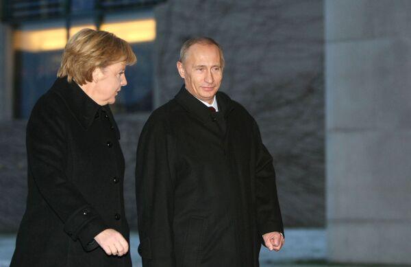 Рабочий визит В.Путина в Федеративную Республику Германия