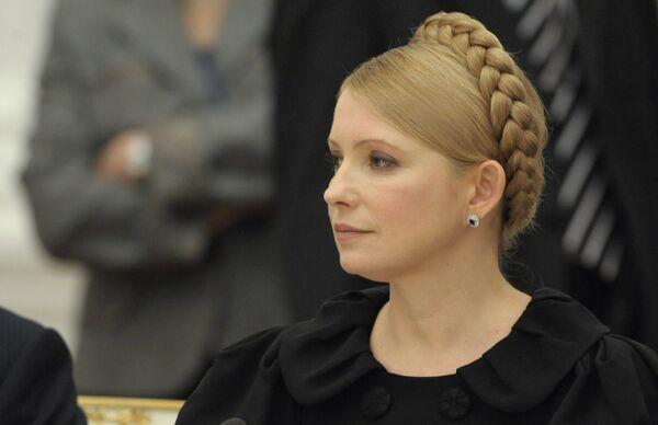 Тимошенко уверена, что закачка газа в ПХГ будет произведена