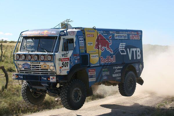 Экипажи команды «КАМАЗ-мастер» заняли по итогам южноамериканского «Дакара» первое, второе и четвертое места
