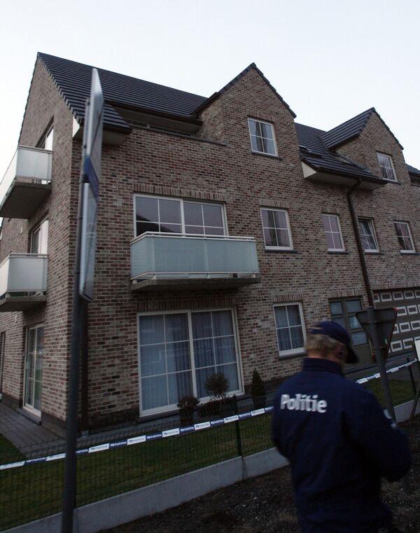 Полиция оградила доступ к дому Кима де Гелдера